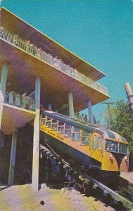 Tennessee Chattanooga Incline Car And Station At The Top Of Lookout Mountain ...