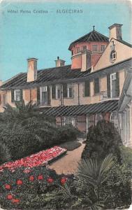Spain Old Vintage Antique Post Card Hotel Reina Cristina Algeciras 1908