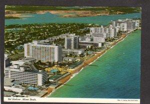 FL Bal Harbour Harbor American Beau Rivage Hotel Miami Beach Florida Postcard