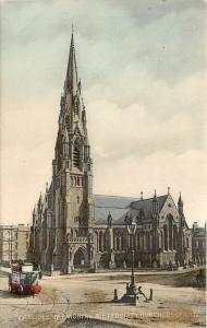 Vintage Postcard Carlisle Memorial Methodist Church Belfast Northern Ireland UK