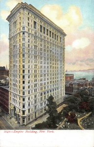 Empire Building, New York, N.Y., Early Postcard, Unused
