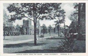 Florida Durham Campus North From The Union Duke University Albertype