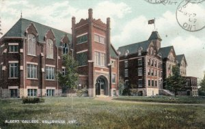BELLEVILLE, Ontario , 1907 ; Albert college # 3