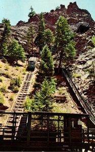 Colorado Colorado Springs Seven Falls Incline Cable Car