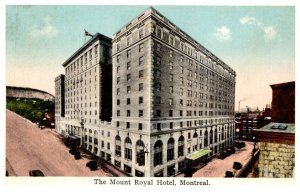 Canada   Montreal The Mount Royal Hotel