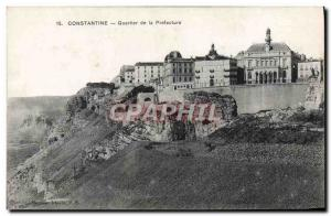 Postcard Old Constantine the Prefecture District