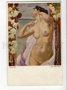 264625 NUDE Woman Flowers by Max EICHLER Vintage ART NOUVEAU