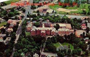 Virginia Bristol Aerial View Virginia Intemont College 1970
