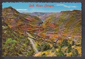 Switchbacks Salt River Canyon AZ Postcard BIN
