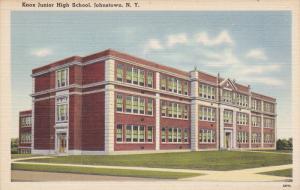 Knox Junior High School, JOHNSTOWN, New York, 1930-1940s