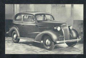 1937 CHEVROLET CHEVY CAR DEALER ADVERTISING POSTCARD TELFORD PENNSYLVANIA
