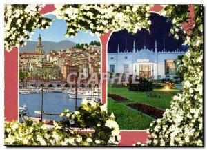 Postcard Moderne Menton