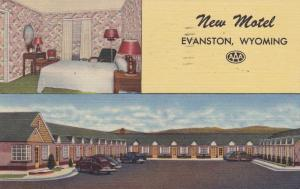 EVANSTON , Wyoming , 30-40s; Lincoln Highway : New Motel