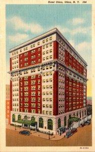 New York Utica Hotel Utica Curteich