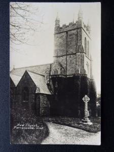 Devon PARRACOMBE New Church (Christ Church) Old RP Postcard