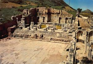 Turkey Egenin Incisi Izmir The Library of Celsus Bibliotek der Celsus Postcard