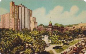 Canada Montreal Dominion Square & Laurentian Hotel