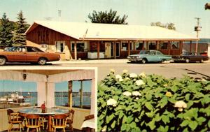 Wisconsin Bayfield Pier Plaza City Dock 1973