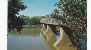 Finlay Bridge , MEDICINE HAT , Alberta , Canada , 50-60s
