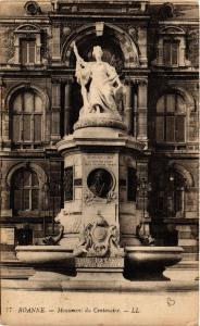 CPA ROANNE Monument du Centenaire (338653)