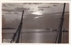 RP: Moonlight , Panama bay , Panama Canal , 30-40s