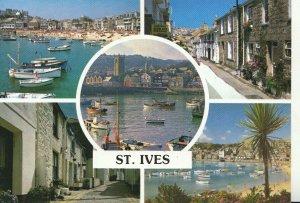 Cornwall Postcard - Views of St Ives - Cornwall - Ref TZ258