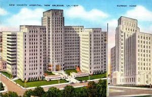 Louisiana New Orleans New Charity Hospital and Nurses' Home 1949