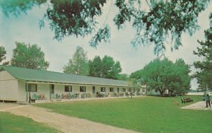 PORT STANTON, Ontario, 1950-60s; The Row at Stanton House on Sparrow Lake