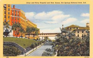 Hot Springs National Park Arkansas~Army And Navy Hospital~1940 PC