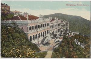 Hong Kong (China) Stewart Terrace ca. 1910