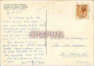 Modern Postcard Greetings from Marina di ravenna