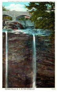 New York  Haines Falls and Twilight Park Bridge