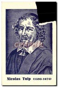 Old Postcard Nicolas Tulip 1593 1674