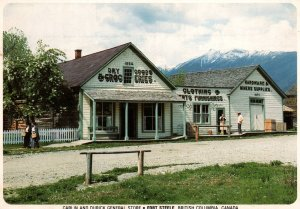 Carlin and Durick General Store,Fort Steele,British Columbia,Canada BIN