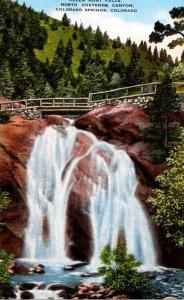 Colorado Colorado Springs North Cheyenne Canon Helen Hunt Falls