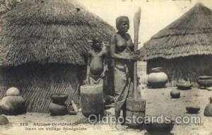 Afrique Orientale African Nude Unused crease right bottom corner