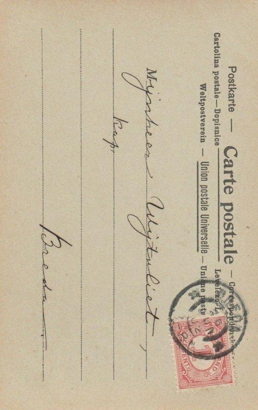 La Poste au PEROU , 1902