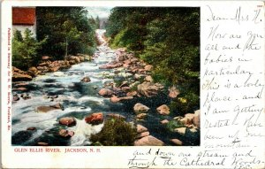 JACKSON NH Glen Ellis River New Hampshire Postcard PMC ca. 1905 White Mountains
