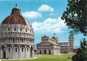 Italy Tivoli Pisa Piazza del Duomo Real Photo