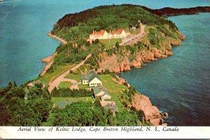 Canada Nova Scotia Cape Breton Highland Aerial View Of Keltic Lodge
