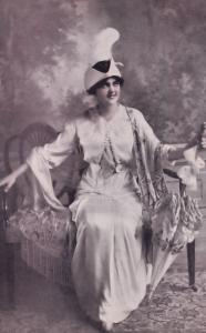 New York Fashion Designer Opening Launch Party 1913 USA Postcard