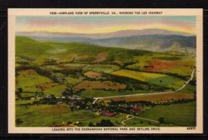 Virginia postcard Lee Hwy Sperryville