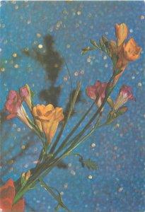 Flower tree Postcard Greeting card yellow flower vase