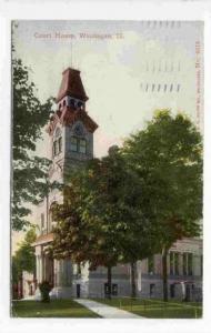 Court House , Waukegan , Illinois , PU-1913