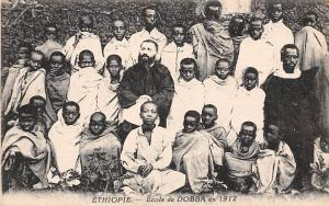 Ethiopia Students School Group, Ecole de Dobba en 1912