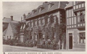 Stratford-On-Avon (Warwickshire), England, UK, 1900-1910s ; Residence of Miss...