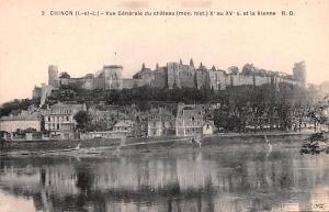 Chinon France Chateau, Et la Vienne Chinon Chateau, Et la Vienne