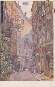 Wien - Weihburggasse , Austria , PU-1923