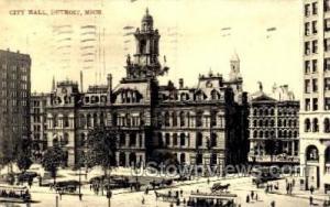 City Hall Detroit MI 1907