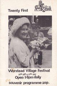 Worstead Norfolk Car Rally Theatre Organ Gypsy Guide Book